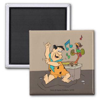 Imã A dança do Flintstone dos Flintstones | Fred