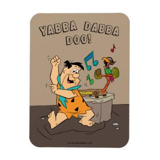Ímã A dança do Flintstone dos Flintstones | Fred