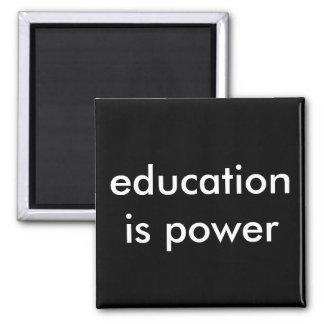 Imã a educação é poder