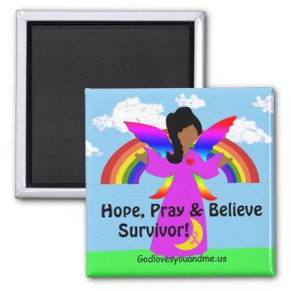Imã A esperança, Pray & acredita o sobrevivente!