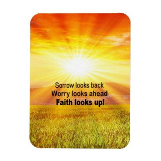 Ímã A fé olha acima!