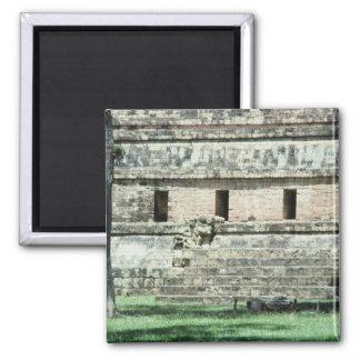 Imã A foto maia de Honduras das ruínas projetou o