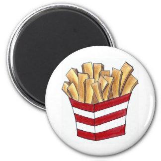 Imã A fritada do francês frita o ímã de Foodie do fast