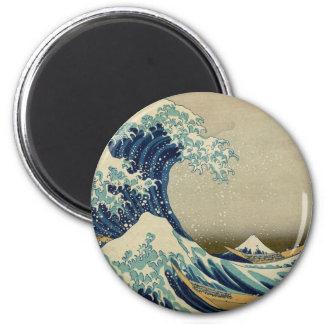 Imã A grande onda Kanagawa
