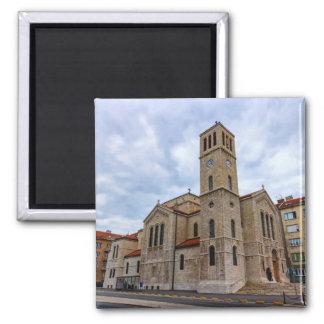 Imã A igreja de St Joseph em Sarajevo. Bósnia e Herz