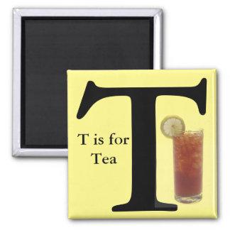 """Imã A """"letra T"""" é para o ímã das crianças do amarelo"""