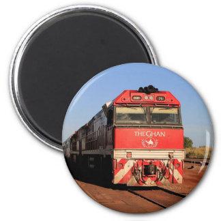 Imã A locomotiva do trem de Ghan, Darwin