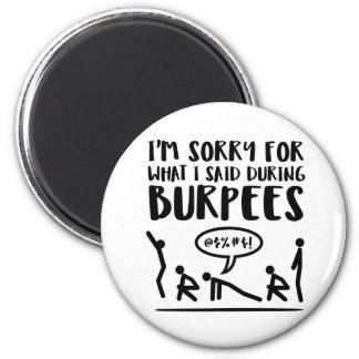 Imã A malhação pesarosa disse Burpees