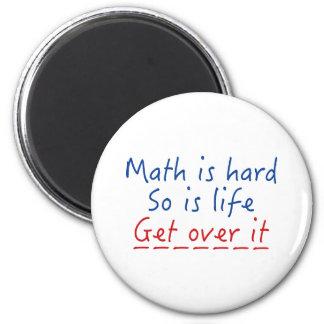 Imã A matemática é dura