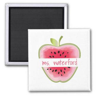 Imã A melancia Apple personalizou o professor