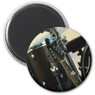 Imã A música dos instrumentos rufa o instrumento