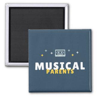 Imã A música Parents o ímã: Mostre seu orgulho musical