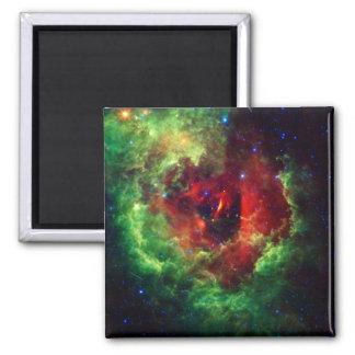 Imã A nebulosa cor-de-rosa do Rosette dos unicórnios
