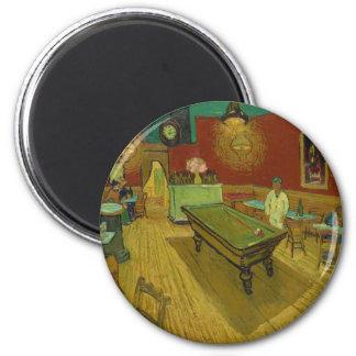 Imã A noite Café por Vincent van Gogh (1888)