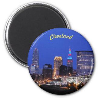 Imã A noite ilumina o ímã de Cleveland (opinião do