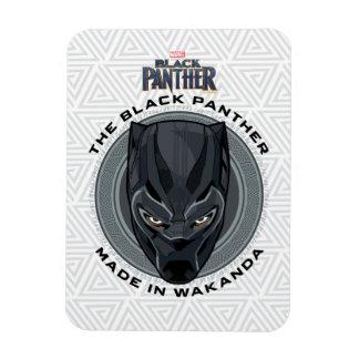 Ímã A pantera preta | fez em Wakanda