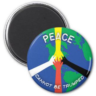Imã A paz não pode Trumped - ímã