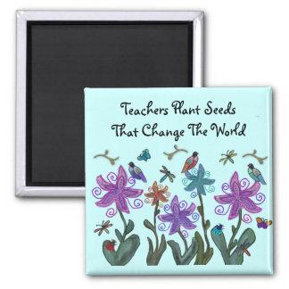 Imã A planta dos professores semeia ímãs