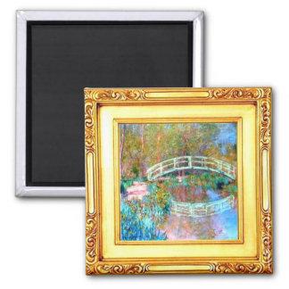 Imã A ponte japonesa pelo ímã de Claude Monet