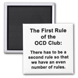 Imã A primeira regra do clube de OCD