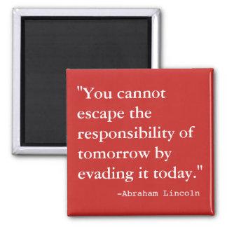 Imã A responsabilidade de amanhã