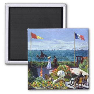 Imã À Sainte-Adresse de Jardin por Claude Monet