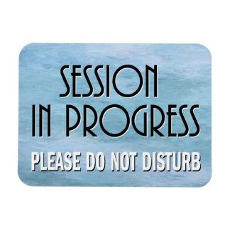 Ímã A sessão em andamento por favor não perturba a