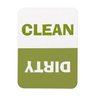 Ímã A sopa de ervilha verde/branca limpa/máquina de