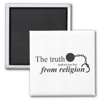 Imã A verdade ajustá-lo-á livre da religião