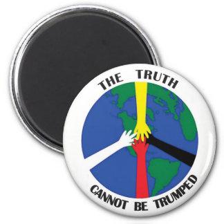Imã A verdade não pode Trumped - ímã