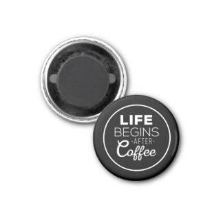 Imã A vida começa após o café
