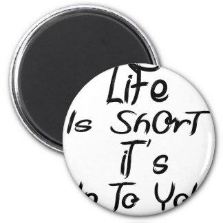 Imã a vida é curta