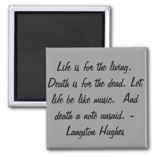 Imã A vida é para o vivo…