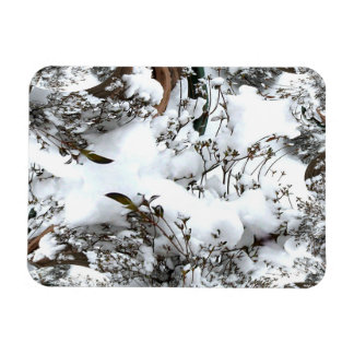 Ímã Abstrato da neve
