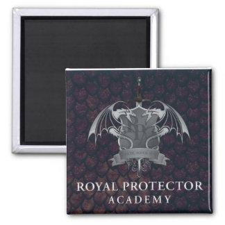 Imã Academia real do protetor - ímã da crista