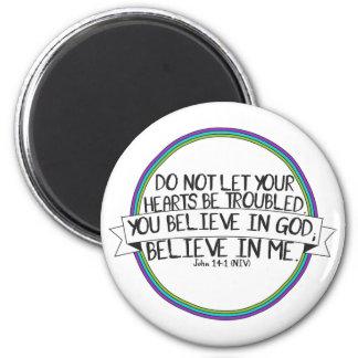 Imã Acredite em mim (14:1 NIV de John)