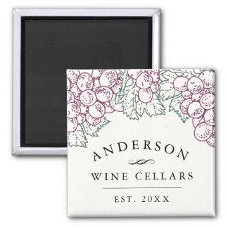 Imã Adega de vinho Home personalizada | da região