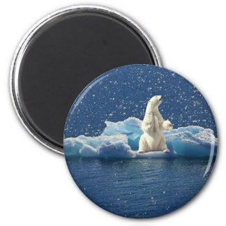 Imã Adicione o SLOGAN para salvar o gelo ártico do