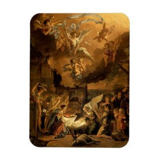 Ímã Adoração do Natal das belas artes dos pastores