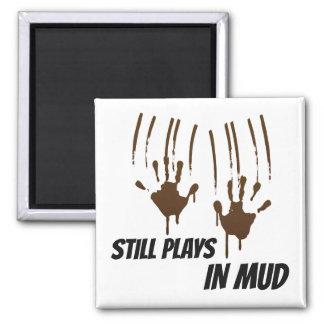 Imã Ainda jogos no ímã do quadrado da lama