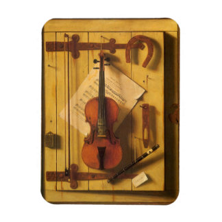 Ímã Ainda violino e música da vida por William Harnett