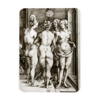 Ímã Albrecht Durer - quatro bruxas