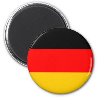 Ímã alemão da bandeira ímã redondo 5.08cm