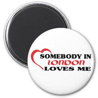 Imã Alguém em Londres ama-me