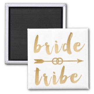 Imã alianças de casamento elegantes da seta do tribo
