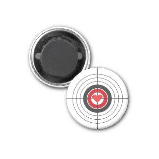 Imã Alvo do Bullseye com ímã do coração