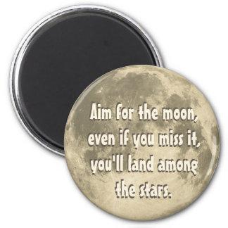 Imã Alvo para a lua