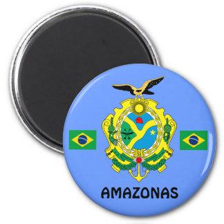 Imã Amazonas, ímã Imå DAS Amazonas do estado de Brasil