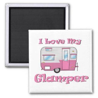 Imã Ame meu ímã do quadrado do campista de Glamper