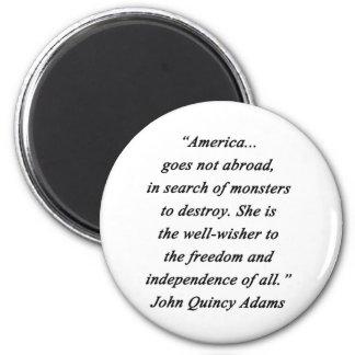 Imã América no exterior - John Q Adams